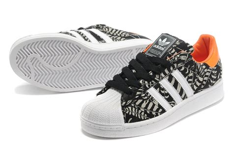 Adidas Superstar Leather Square Pattern s s adidas originals superstar 2 pattern casual shoes black orange g97580
