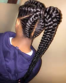 human hair ponytail with goddess braid 40 inspiring exles of goddess braids
