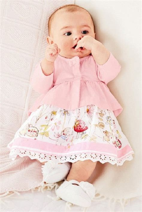 Next Baby - baby clothing set pink sleeved casual