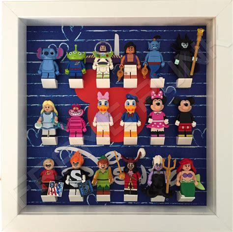 Frame Lego Minifigure Series 15 Display i disney lego minifig white display frame frame