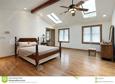 bedroom skylight master bedroom with skylights stock photo image 18090166