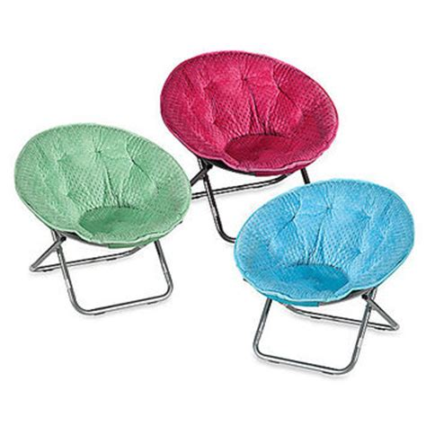 plush saucer chair dotted plush saucer chair from bed bath beyond