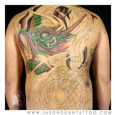 one back piece tattoo update finished garp started jason clay dunn full body tattoos