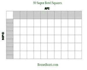 Bowl Grid Template by Superbowl 2015 Printable Grid Autos Post