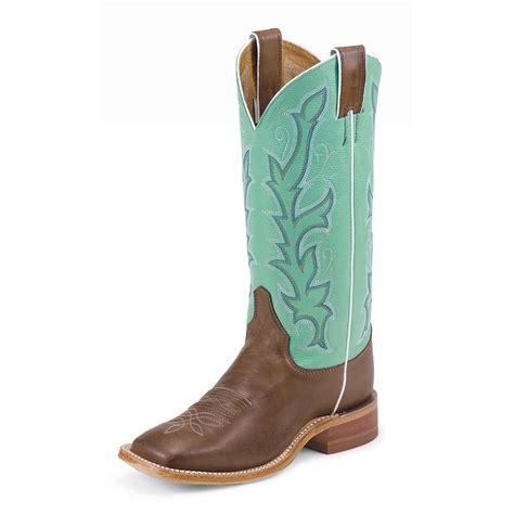 womens justin boots clearance s justin 174 13 quot bent rail calf boots 582153 cowboy