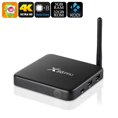 android pro wholesale x98 pro android tv box 4k tv box from china