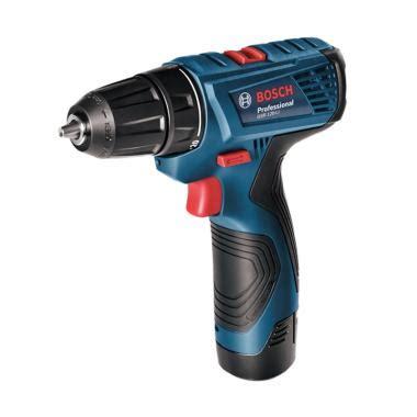 Mesin Bor Obeng Baterai Cordless Drill Bosch Gsr 120 Berkualitas jual bor cordless daftar harga spesifikasi terbaik blibli
