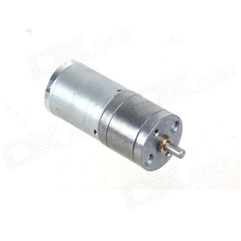 Motor Dc Gearbox 12v 125rpm Kookjae 1 60 Gb zndiy bry dc 12v 120rpm dc 6v 60rpm high torque gear motor silver free shipping dealextreme