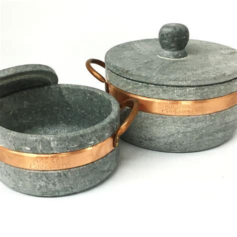 Soapstone Pot soapstone stew pot panela de pedre ancient cookware