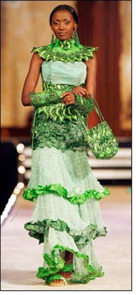 Fashion Goes Green by Botswana Go Green Fashion Show With A Difference