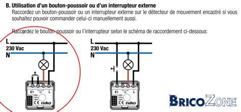 Interrupteur Detecteur De Mouvement Va Et Vient by Remplacer Interrupteur Va Et Vient Par D 233 Tecteur De Mouvement