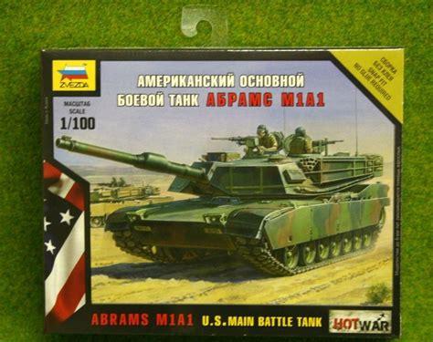 zvezda abrams m1a1 u s battle tank war 1 100 scale 7405 arcane scenery and models