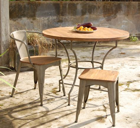 Wooden Patio Table And Chairs Outdoor Garden Furniture Set For Outdoor Activity Stylishoms Outdoor Decoration