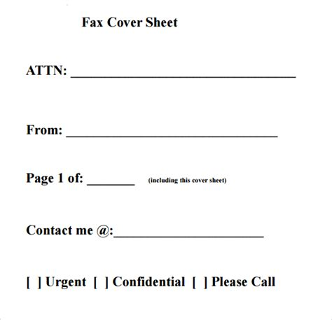 business fax cover sheet 10 free word pdf documents download