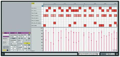Drum Pattern Velocity | impulse drum machine in ableton live