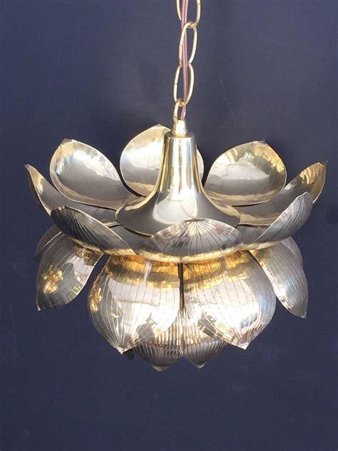 lotus pendant light lotus pendant light gold lotus hanging pendant l world