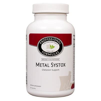 How To Do A Metal Detox by Professional Complementary Health Formulas Metal Systox