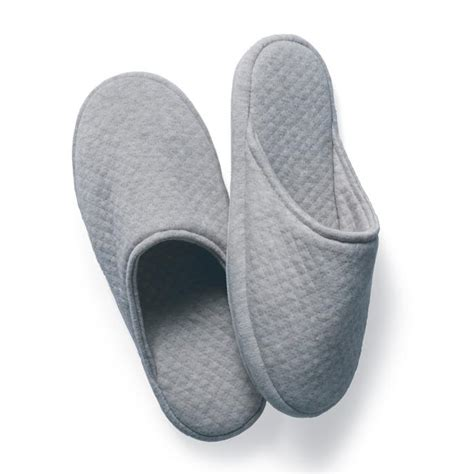 spa slippers s quilted spa slippers frontgate