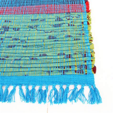 recycled rag rug anjali handmade recycled rag rug by paper high notonthehighstreet
