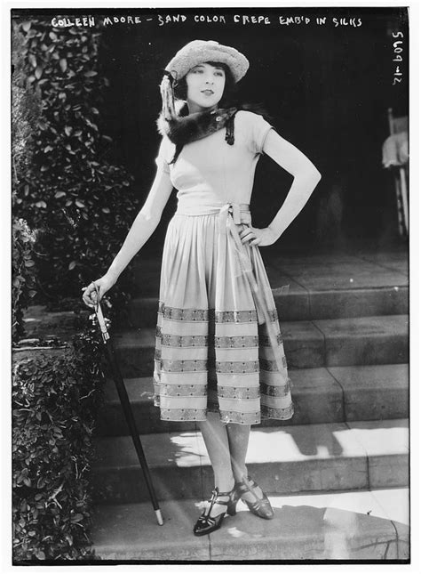 who was the first actress in a star is born the movie star colleen moore was the first actress to cut