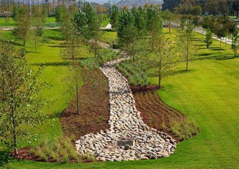 Landscape Architecture Quizlet Bioswale At Sports Park Lpa Inc Bioswale
