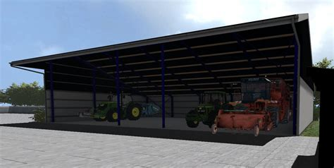 Machine Shed by Fs17 Machine Shed V1 Modhub Us