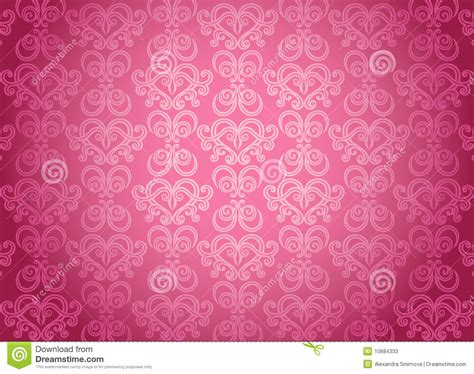 Luxury Pink luxury pink ornamental pattern stock vector illustration