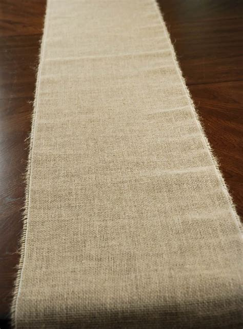 burlap table runner 100 jute 50 off save on crafts