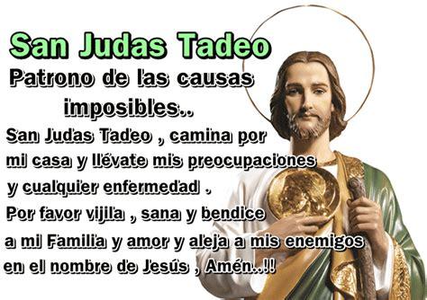 oraciones a san judas tadeo oracion a san judas tadeo 187 oraciones para causas imposibles