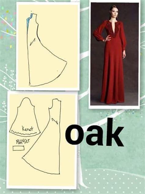 Outer Jubah Wanita 3 17 terbaik ide tentang pola jahitan di
