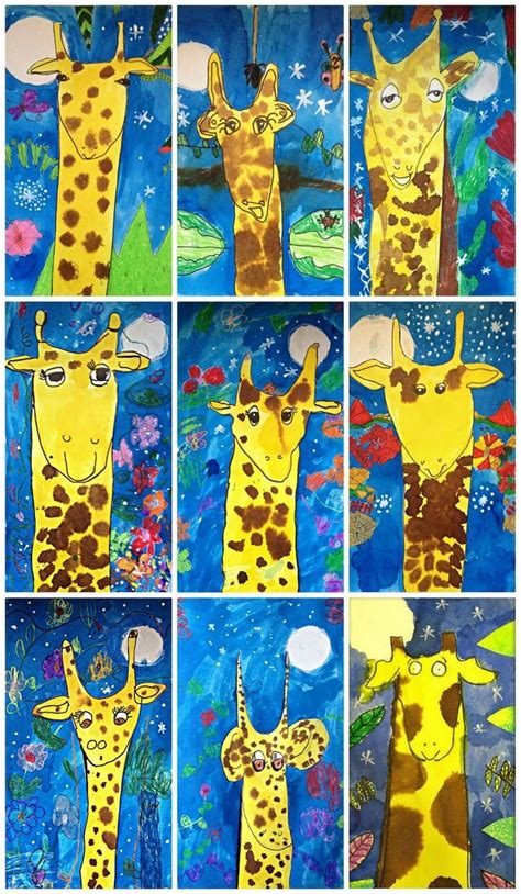 My Busy Day Magic Painting Book Just Add Watter 24 best giraffe themed learning images on