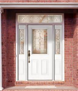 White Exterior Doors Feather River Door Fiberglass Entry Doors Smooth White D