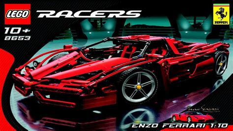 Lego Ferrari Enzo by 8653 Lego Enzo Ferrari Instruction Booklet Youtube