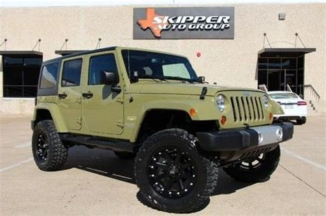 Jeep Wrangler Unlimited 6 Inch Lift Buy Used 2013 Jeep Wrangler Unlimited 6