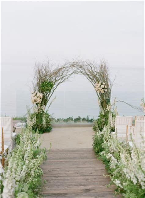 Wedding Arch Branches by Ethereal Garden Inspired Morning Ceremony Brunch