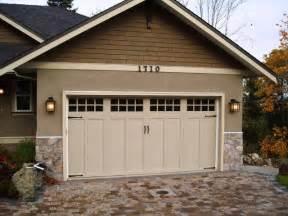clopay coachman series garage door traditional garage craftsman garage home design