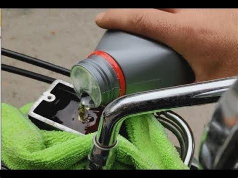 motosiklet fren hidrolik yagi degistirme kolay yol youtube