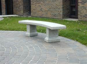 Precast Concrete Planters by Doty Amp Sons Concrete Products Inc Curved Morrison Bench