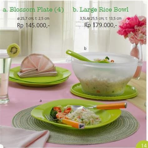 Blossom Rice Tupperware january 2014 tupperware indonesia promo november 2016