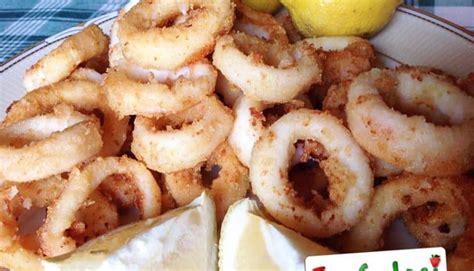 come cucinare gli anelli di totano anelli di totano fritti ricetta totani fritti fragolosi