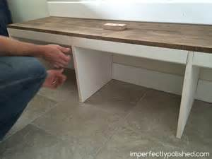 How To Build Bench Seating For Kitchen Diy Mudroom Tutorial