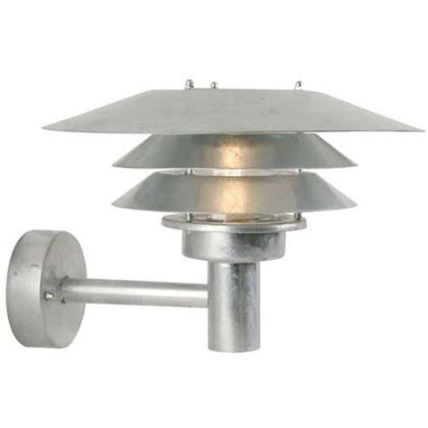 Nordlux Veno Galvanised 10600619 Outdoor Wall Light Outdoor Lighting Centre