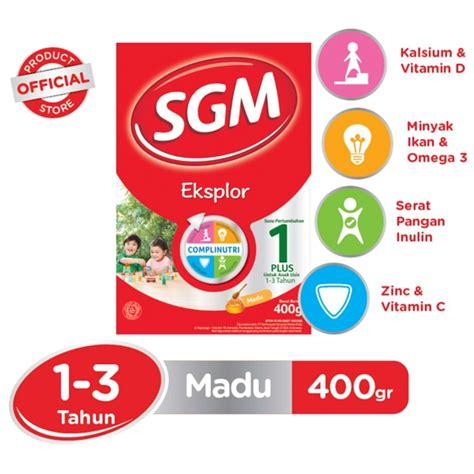 sgm eksplor 1 madu 400gr box sgm eksplor 1 madu 400gr box