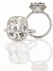 Cushion Cut Ring Cushion Cut With Cushion Cut