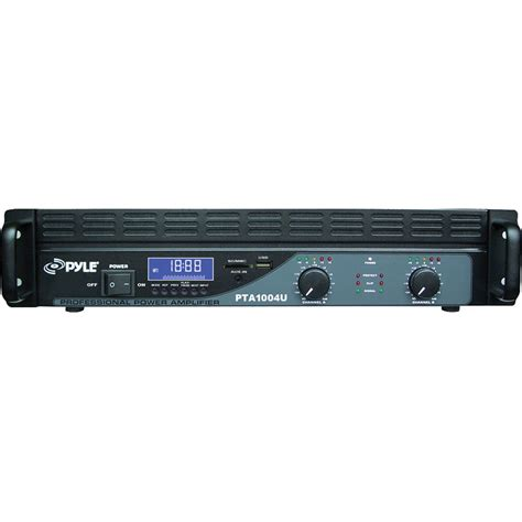 Power Lifier Usb pyle pro power lifier with usb sd readers lcd pta1004u b h