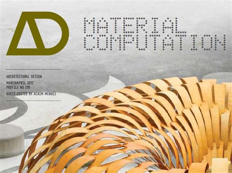 ad architectural design a menges new ad material computation achimmenges net