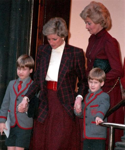 princess diana s children diana with her children and mother princess diana
