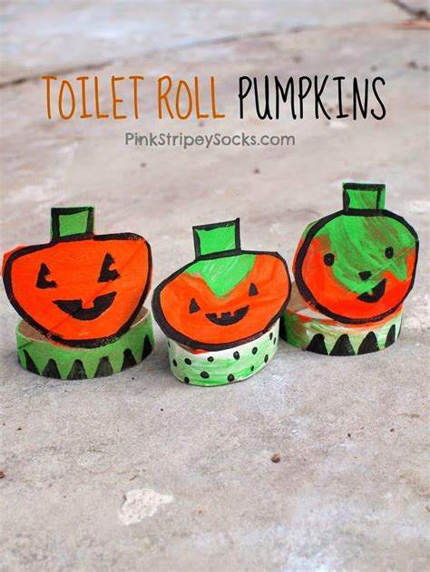 Toilet Paper Pumpkins Craft - 329 best images about for on