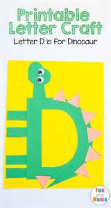 Dinosaur Craft For Kids - printable letter d crafts d is for dinosaur fun with mama kids and toddler activities
