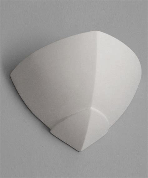 Ceramic Corbels Wall And Corner Uplight In A Pointed Corbel Design